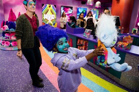 dreamworks trolls  experience cupcakes rainbows wig