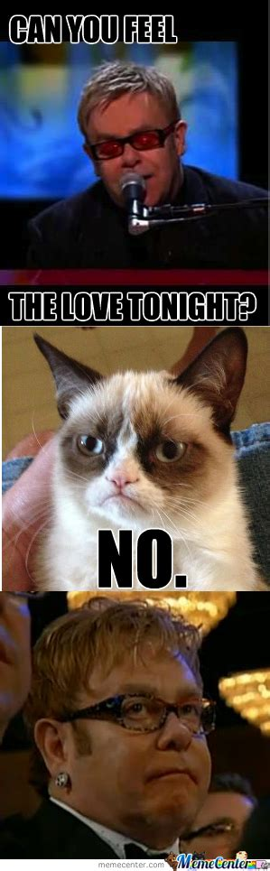 Feel The Love Meme - can you feel the love tonight by agent lazercat meme center