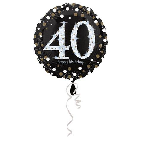 ballon gonflable anniversaire 40 ans d 233 co chic anniversaire 40 ans