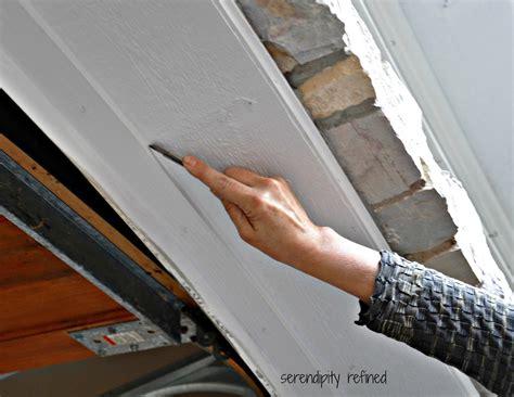 garage door frame weather seal serendipity refined how to replace a garage door