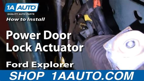 How Replace Power Door Lock Actuator Ford
