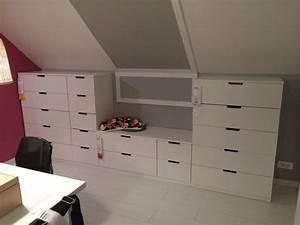 Rangement Sous Bureau : les 19 meilleures images du tableau meubles rangement sous pente en carton sur pinterest les ~ Teatrodelosmanantiales.com Idées de Décoration