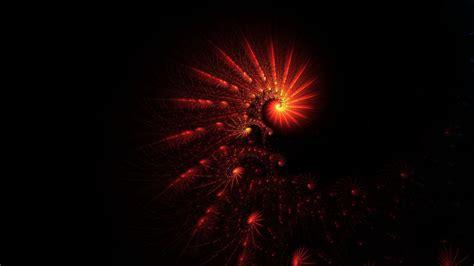 full hd wallpaper helix tracery red light dark desktop