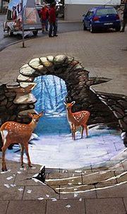 Stunning 3D Chalk Art by Nikolaj Arndt - The Sherwood Group