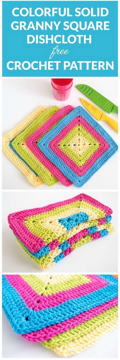 Dress Dishcloth Pattern