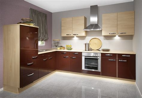 High Gloss Kitchen Cabinet Design Ideas 2015  Kitchen