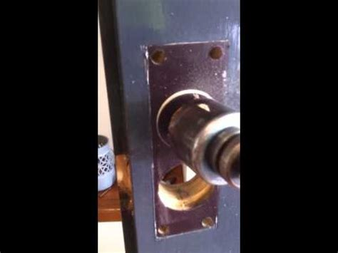 Trilock Template by Gainsborough Tri Lock Retro Fit Youtube