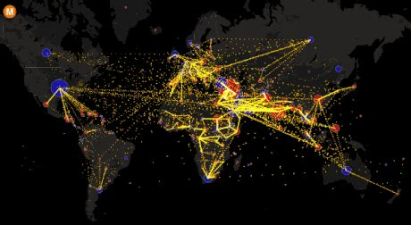 interactive map shows  worlds  migration