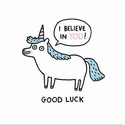 Unicorn Card Luck Cards Gemma Unicorns Deer
