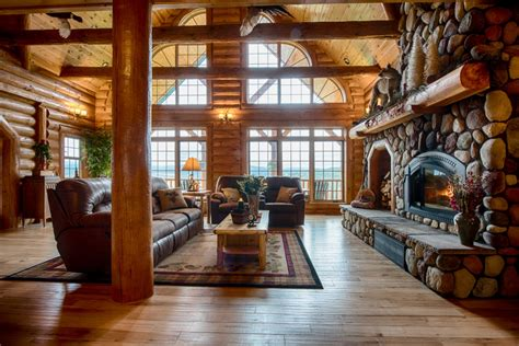 golden eagle log  timber homes log home cabin pictures  countrys  mountain