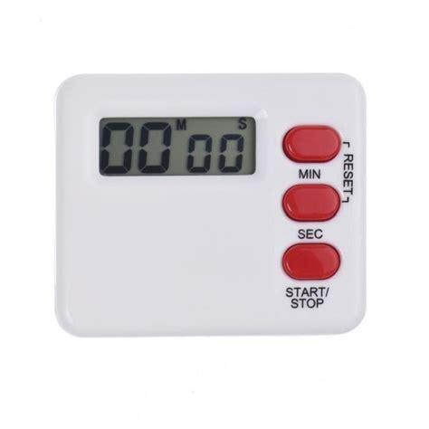 compte minute cuisine chronomètre de réveil de cuisine calculatrice de compte à