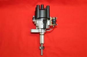 Ignition Distributor W   Cap  U0026 Rotor  W  O Coil 84 Re