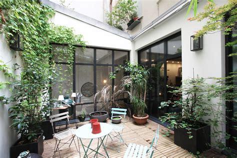 paris  loft avec patio agence ea paris
