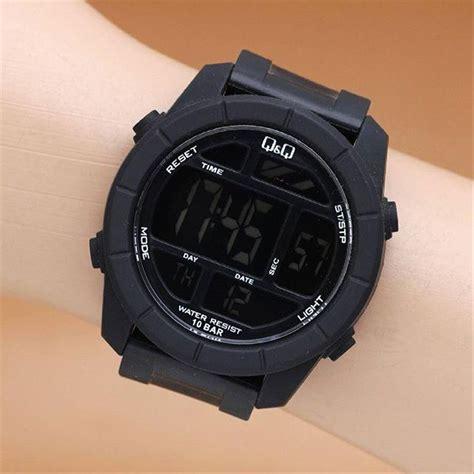 Tali Jam Tangan Rubber Karet jual jam tangan pria q q m123j001y original qnq m123j