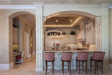 island in small kitchen interior room arches decoration ideas