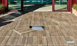Carrelage Clipsable Exterieur : carrelage exterieur imitation bois pour terrasse sur plot ~ Premium-room.com Idées de Décoration