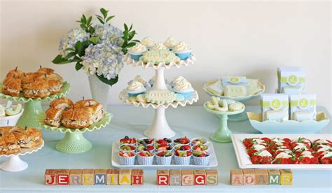 baby shower food ideas for a boy vintage bunting baby shower glorious treats