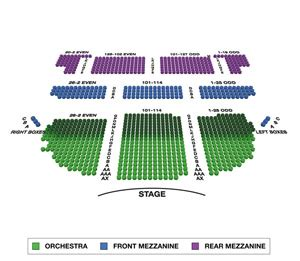 seating charts broadwayworldcom