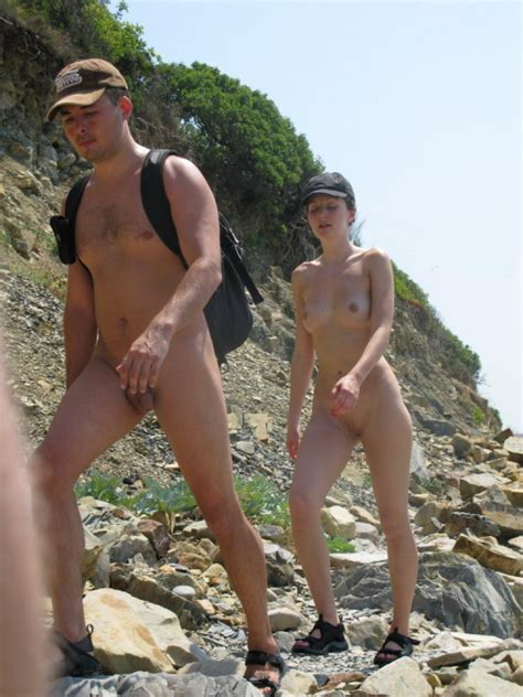 Hiking Nude Nudeforjoy Enjoying Nudity