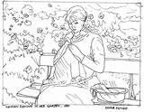 Sewing Coloring Morisot Berthe Cycle Artists Cc Week Pdf Colouring Getcolorings Classical Conversations Collect Printable Later Getdrawings Appreciation Practicalpages sketch template