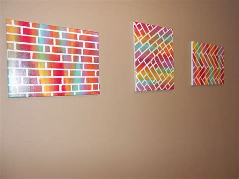 minute diy gifts easy diy paint canvas painting