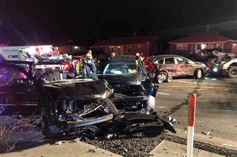 Car Crash by Trapped In Car For An Hour After 5 Car Crash In