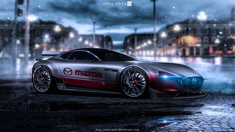 Mazda Rx Vision Price by Mazda Rx Vision By Emil Arts On Deviantart