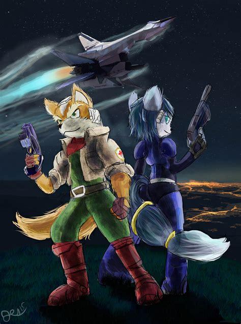 Starfox Fox And Krystal By Owlvortex On Deviantart