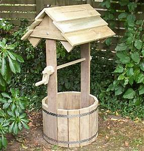 How to build a wooden wishing well page 1
