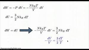 Adiabatic Process For Ideal Gas