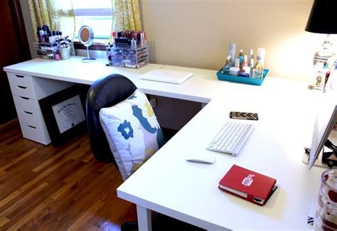 Corner Bedroom Bureau by Ikea Desks Office Makeover Home Decor Vanity Room