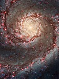 Hubble Telescope Whirlpool Galaxy