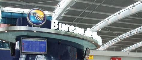 heathrow bureau de change railings gates canopies signage furniture