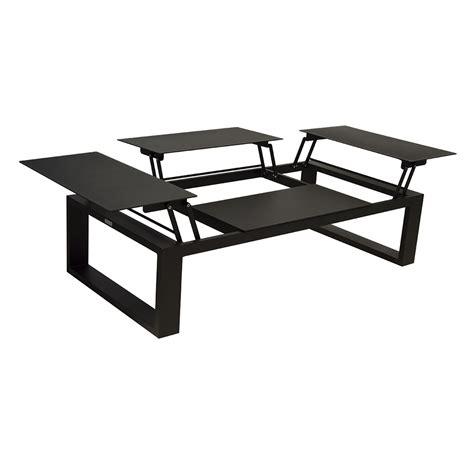 table basse avec plateau relevable table basse avec plateau relevable zendart outdoor zendart design