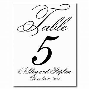 free table number templates 4x6 wowcom image results With table numbers template for weddings