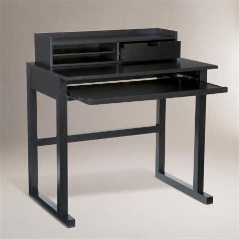 World Market Josephine Desk Black by Black Lewis Computer Desk World Market