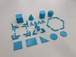 3d Printed Geometric Build Kit By Vicgasco