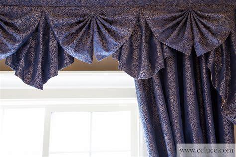 Cascade Valance by Renaissance Arabesque Salon Cascade Valances Curtain