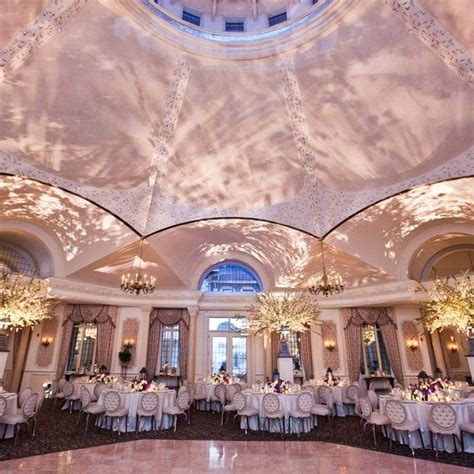pleasantdale chateau ballroom reception images  berit