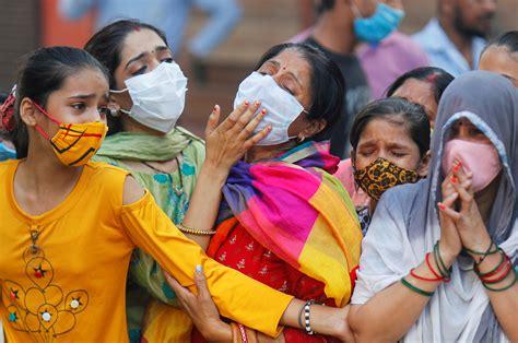 coronavirus india llega  otra marca diaria de contagios
