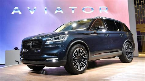 Lincoln Aviator Flies Into New York As A Preview Of What's