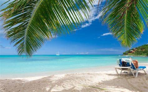 beach summer tropical sea nature landscape caribbean