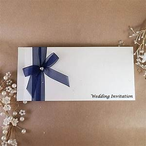 dawn navy midnight blue cheque book style wedding invitation With midnight blue wedding invitations uk