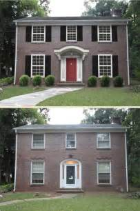 Exterior Home Makeovers Before and After