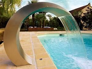 Piscine Avec Cascade : fontaine piscine ~ Premium-room.com Idées de Décoration