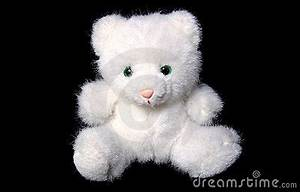 White Cat Soft Toy Royalty Free Stock Images - Image: 1482299
