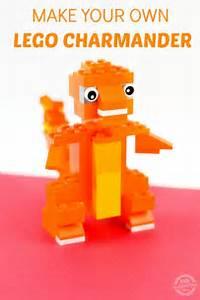 make lego charmander pokemon figure