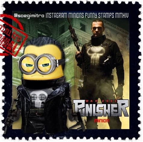 minions minion punisher quotes wearing goats