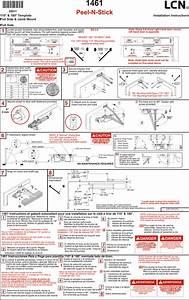 Lcn 1461 Peel N Stick Installation Guide Lcn1461peel