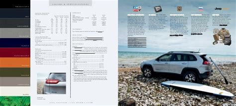 jeep cherokee vehicle brochure